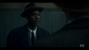 Camp Elegance- Loy demands that Odis bring Satchel to him- Fargo, FX