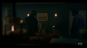 Camp Elegance- Loy demands that Odis work for him- Fargo, FX