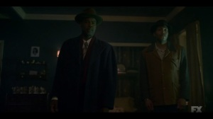 Camp Elegance- Loy speaks with Odis- Fargo, FX