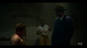 Camp Elegance- Loy tells Gaetano about Sugar Ray Robinson- Fargo, FX