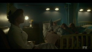 Camp Elegance- Oraetta is still thinking about the anonymous letter- Fargo, FX