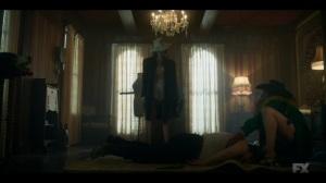 Camp Elegance- Swanee and Zelmare try to move Gaetano's body- Fargo, FX