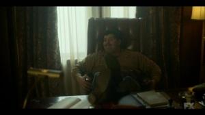 Raddoppiarlo- Gaetano sits in Josto's chair- Fargo, FX