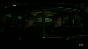 Raddoppiarlo- Weff and Deafy on a stakeout- Fargo, FX