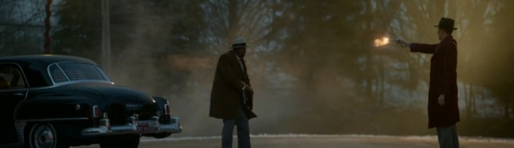 The Birthplace of Civilization- Calamita shoots and kills Doctor Senator- FX, Fargo