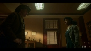 The Birthplace of Civilization- Deafy asks Ethelrida where Zelmare is right now- FX, Fargo