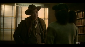 The Birthplace of Civilization- Deafy questions Ethelrida for information- FX, Fargo