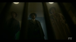 The Birthplace of Civilization- Josto tells Loy's men why Americans love a crime story- FX, Fargo