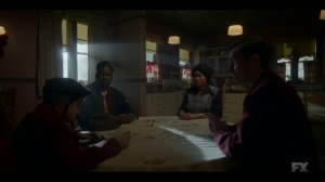 The Birthplace of Civilization- Loy pays Thurman and Dibrell a surprise visit- FX, Fargo