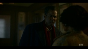 The Birthplace of Civilization- Loy tells Buel to get him some coffee- FX, Fargo