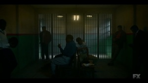 The Birthplace of Civilization- Loy's men in holding- FX, Fargo