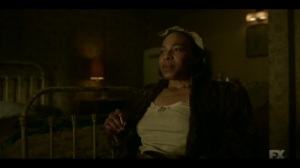 The Birthplace of Civilization- Zelmare explains the difference between criminals and outlaws- FX, Fargo