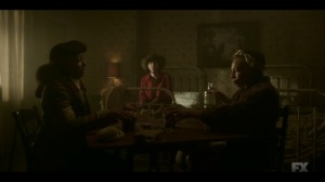 The Birthplace of Civilization- Zelmare offers Ethelrida a drink- FX, Fargo