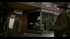 The Pretend War- Deafy asks Gaetano where he could get his pud tugged- Fargo, FX
