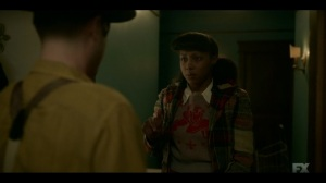 The Pretend War- Ethelrida arrives at Oraetta's home to help her clean- Fargo, FX