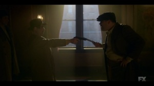 The Pretend War- Gaetano tells Josto that the Coloreds think they're weak- Fargo, FX