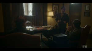The Pretend War- Josto gives Weff and Ebal their orders- Fargo, FX