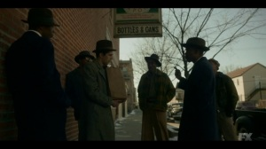 The Pretend War- Loy confronts Rabbi Milligan about the assassination attempt- Fargo, FX