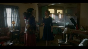 The Pretend War- Oraetta instructs Ethelrida on how to help around her home- Fargo, FX