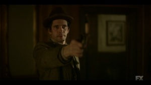 The Pretend War- Rabbi points his gun at Gaetano- Fargo, FX