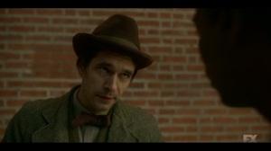 The Pretend War- Rabbi threatened by Loy- Fargo, FX