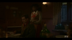 The Pretend War- Thurman assures Ethelrida that everything will be fine- Fargo, FX