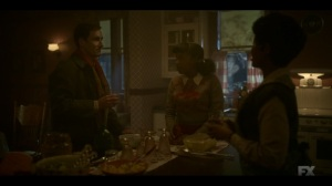 The Pretend War- Thurman tells Ethelrida and Dibrell that they're out of debt- Fargo, FX