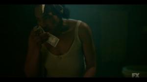 The Pretend War- Zelmare takes money out of the bathtub- Fargo, FX