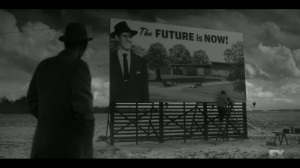 East West- Rabbi sees the completed billboard, The Future is Now- Fargo, FX