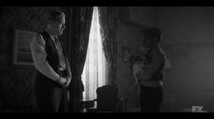 East West- Satchel meets Hunk Swindell, played by Tim Hopper- Fargo, FX