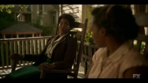 Happy- Dibrell tells Ethelrida about Theodore Roach- Fargo, FX