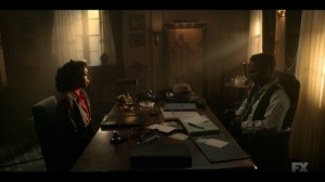Happy- Ethelrida tells Loy that her parents have earned their home- Fargo, FX