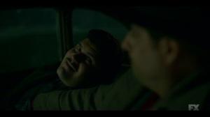 Happy- Gaetano and Josto have a brotherly moment- Fargo, FX