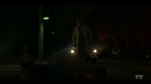 Happy- Josto approaches Gaetano's dead body- Fargo, FX
