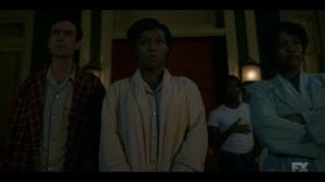 Happy- Lemuel and Smutny family watch as Nurse Mayflower is taken into custody- Fargo, FX
