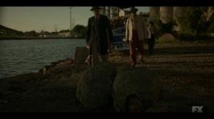 Happy- Loy finds bodies- Fargo, FX