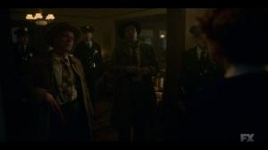 Happy- Police arrive to arrest Nurse Mayflower- Fargo, FX