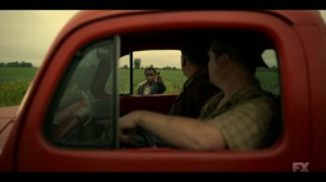 Happy- Satchel tells two guys to fuck off- Fargo, FX