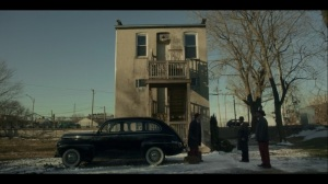 Lay Away- Loy's men tell Odis to get in their car- Fargo, FX