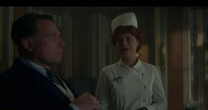 Lay Away- Oraetta watches as Dr. Harvard chokes- Fargo, FX
