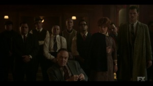 Storia Americana- Ebal tells Josto that families are crazy- Fargo, FX
