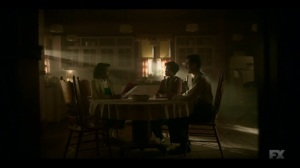 Storia Americana- Ethelrida reads her history report to her parents- Fargo, FX