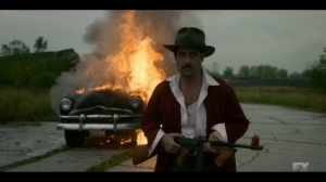 Storia Americana- Josto sets a car on fire- Fargo, FX