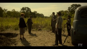 Storia Americana- Mayflower and Josto brought to the execution spot- Fargo, FX
