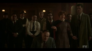 Storia Americana- Mayflower maintains her innocence- Fargo, FX