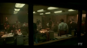 The Nadir- Deafy informs police squad about Zelmare and Swanee's location- Fargo, FX