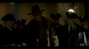 The Nadir- Deafy tells the officers that the plan is to bring in the fugitives alive- Fargo, FX