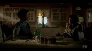 The Nadir- Dibrell and Buel chat and have a drink- Fargo, FX