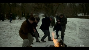 The Nadir- Fargo crime syndicate opens fire on the Fadda family- Fargo, FX