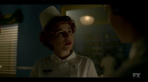 The Nadir- Oraetta learns that Dr. Harvard has been transferred to an out-of-state hospital- Fargo, FX